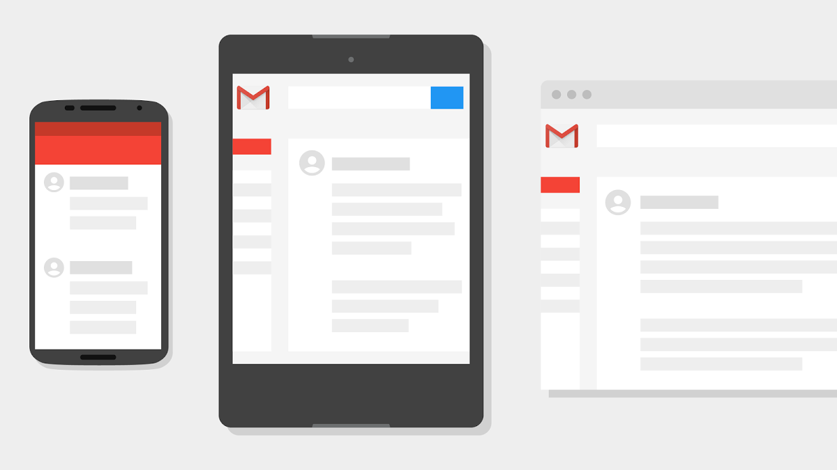 Gmail dispositivos móviles